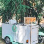 carretto dei gelati Orto botanico di Roma