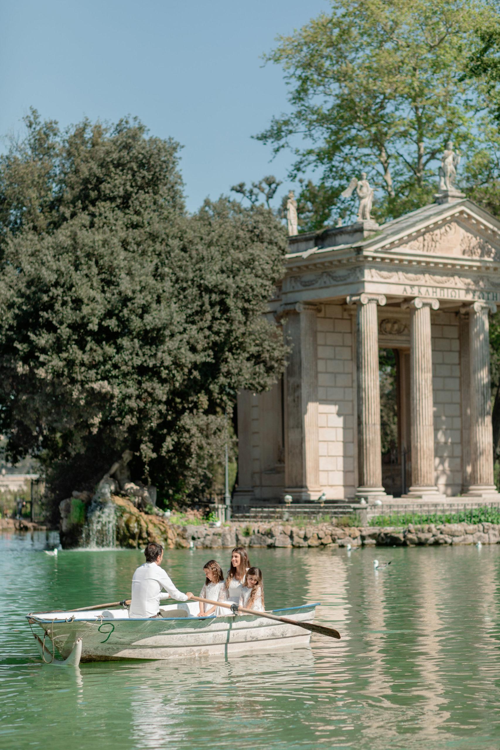 tempio Esculapio villa Borghese